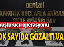 Geniş çaplı uyuşturucu operasyonu: 24 gözaltı