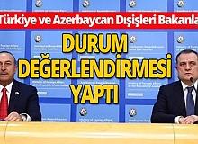 Dışişleri Bakanı Mevlüt Çavuşoğlu, Azerbaycanlı mevkidaşıyla görüştü