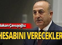 """Dışişleri Bakanı Mevlüt Çavuşoğlu: """"Ermenistan savaş suçu işlemeye devam ediyor"""""""