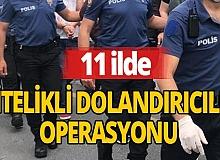 """Diyarbakır merkezli 11 ilde """"nitelikli dolandırıcılık"""" operasyonu: 51 gözaltı"""