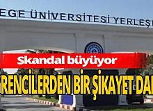 Ege Üniversitesi'ndeki taciz skandalında yeni gelişme!