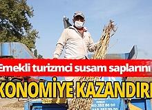 Emekli turizmci Mustafa Kurtuluş'tan ekonomiye katkı