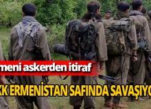Ermenistan askeri itiraf etti: PKK, Dağlık Karabağ'da!