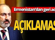 Ermenistan geri adım attı! Paşinyan 'hazırız' dedi