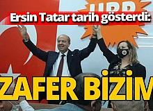 Ersin Tatar: '18 Ekimde nihai zafer bizim olacaktır'