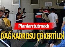 Eylem hazırlığındaki teröristler kıskıvrak yakalandı