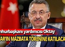 Fuat Oktay, Ersin Tatar'ın mazbata törenine katılacak