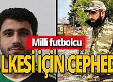 Futbolcu Sadigov, orduya katıldı