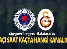 Glasgow Rangers-Galatasaray maçı hangi kanalda canlı yayınlanacak?