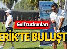 Golf tutkunları Serik'te buluştu