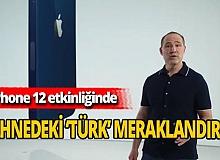 iPhone 12etkinliğinde sahnedeki Türk kim?