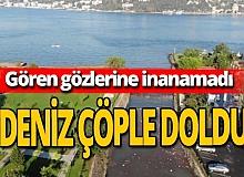 İstanbul Boğazı'nda şoke eden görüntüler!