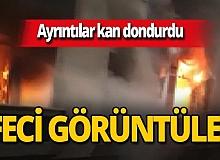 İstanbul'da ailesi para vermeyince evi yaktı!