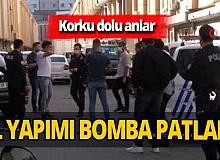 İstanbul'da tartıştığı ortağının iş yerini bombalattı