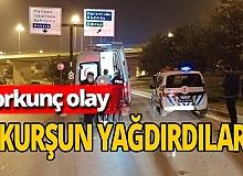 İstanbul'da tartıştıkları kişilerin  üzerlerine kurşun yağdırdılar
