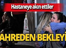 İzmir'de hayatını kaybedenlerin ve yaralıların yakınları hastaneye akın etti