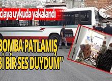 """İzmir'de korku dolu anlar! """"Bomba patlamış gibi bir ses duydum """""""