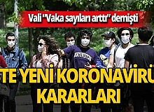 İzmir'de yeni koronavirüs kararları alındı