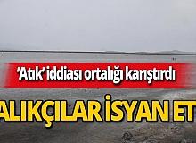 İzmir'deki balıkçılardan Atık Su Arıtma Tesisi'ne büyük tepki