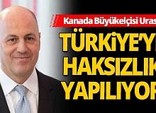 Büyükelçi Kerim Uras'tan Kanada'ya çağrı