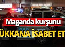 Kayseri'de maganda kurşununun hedefi restoran oldu