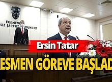 KKTC Cumhurbaşkanı Ersin Tatar görevine yemin ederek başladı