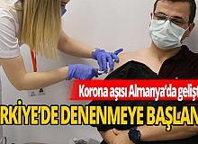 Kocaeli'nde gönüllülere 'koronavirüs aşısı' uygulandı