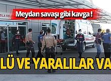 Konya'da kanlı kavga! Silahlar konuştu