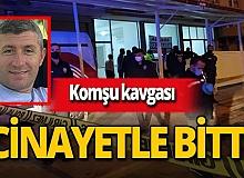 Konya'da polis memuru, komşusunu öldürdü