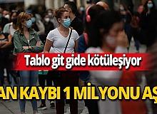 Koronavirüs vaka sayısı dünya genelinde 45 milyonu aştı