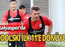 Lukas Podolski ilk 11'e dönüyor