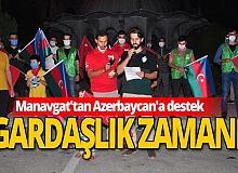 Manavgat'tan Azerbaycan'a destek konvoyu