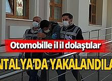 Market ve bakkalları dolandırdılar, Antalya'da yakalandılar
