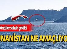 Meis'e Yunan bayrağı asılması tepki çekti