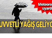 Meteoroloji o bölgeleri uyardı! Yağmur geliyor