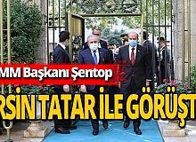 Mustafa Şentop ile Ersin Tatar 'işbirliği' görüşmesi yaptı