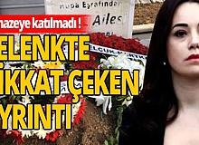 Özgü Namal eşi Serdar Oral'ın cenazesine katılamadı!