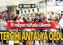 Romanyalı Turistler de Antalyayı tercih ediyor