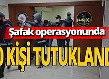 Sakarya'da şafak operasyonu! 10 kişi tutuklandı