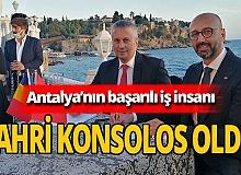 Semih Beken'in, Romanya Antalya Fahri Konsolosu oldu