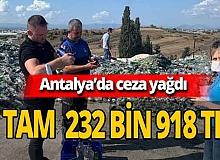 Serik'te 29 işletmeye ceza yağdı
