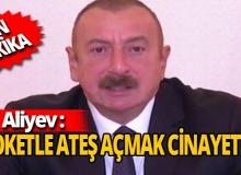 Son dakika... Azerbaycan Cumhurbaşkanı İlham Aliyev: Namert hareketler Azerbaycan halkının iradesini kıramaz