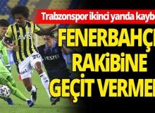 Son dakika: Fenerbahçe -  Trabzonspor maçı sona erdi