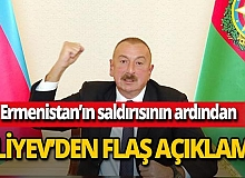 """Son dakika! Aliyev: """"Azerbaycan layıkıyla karşılık verecek"""""""