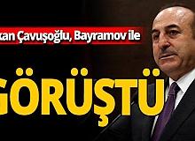 Son dakika!  Bakan Çavuşoğlu, Azerbaycanlı mevkidaşı ile görüştü