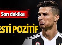 Son dakika!  Cristiano Ronaldo koronavirüse yakalandı!