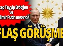 Son dakika! Cumhurbaşkanı Erdoğan, Vladimir Putin ile görüştü