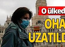 Son dakika haberi: İspanya'da OHAL 6 ay daha uzatıldı