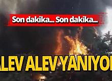 Son dakika! İstanbul Ataköy'de korkutan yangın!