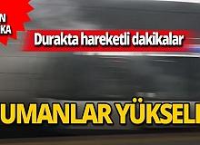 SON DAKİKA! İstanbul'da tramvaydan dumanlar yükseldi